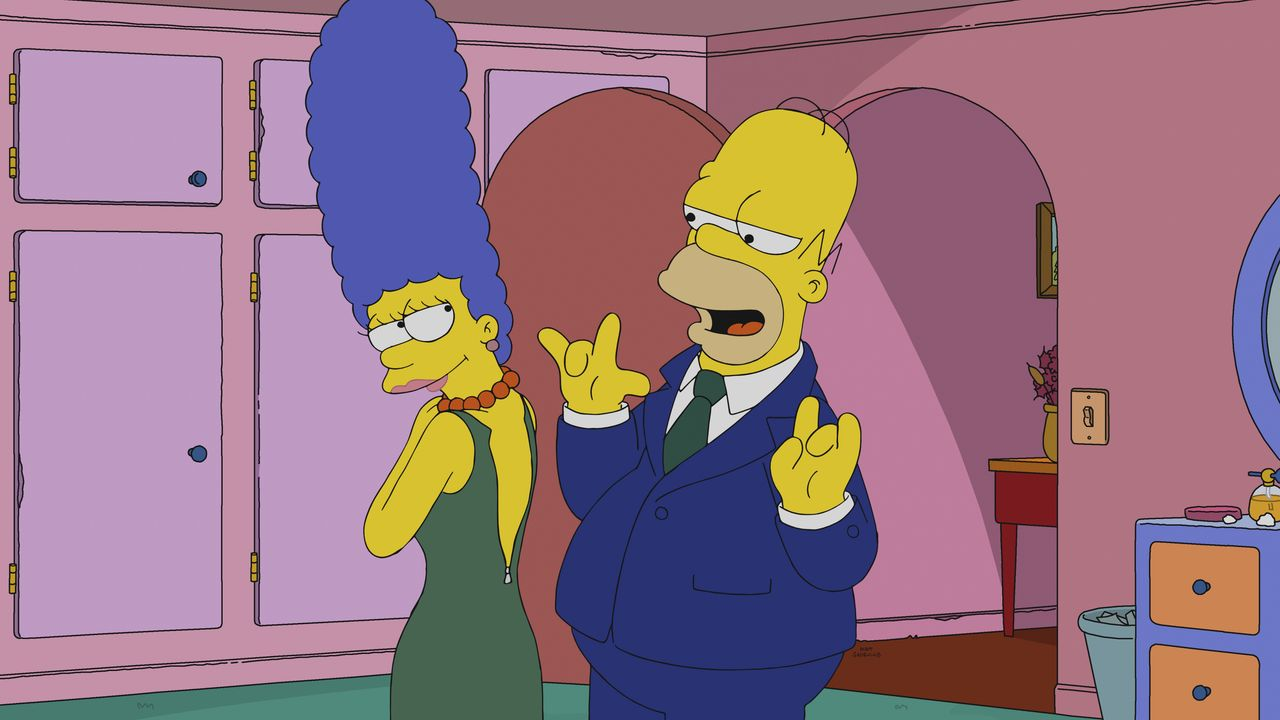 Marge (l.); Homer (r.) - Bildquelle: 2018-2019 Fox and its related entities. All rights reserved.