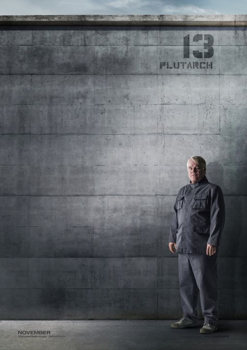 DIE TRIBUTE VON PANEM - MOCKINGJAY TEIL 1 - PHILIP SEYMOUR HOFFMAN - Bildquelle: TM &   2014 Lions Gate Entertainment Inc. All rights reserved.