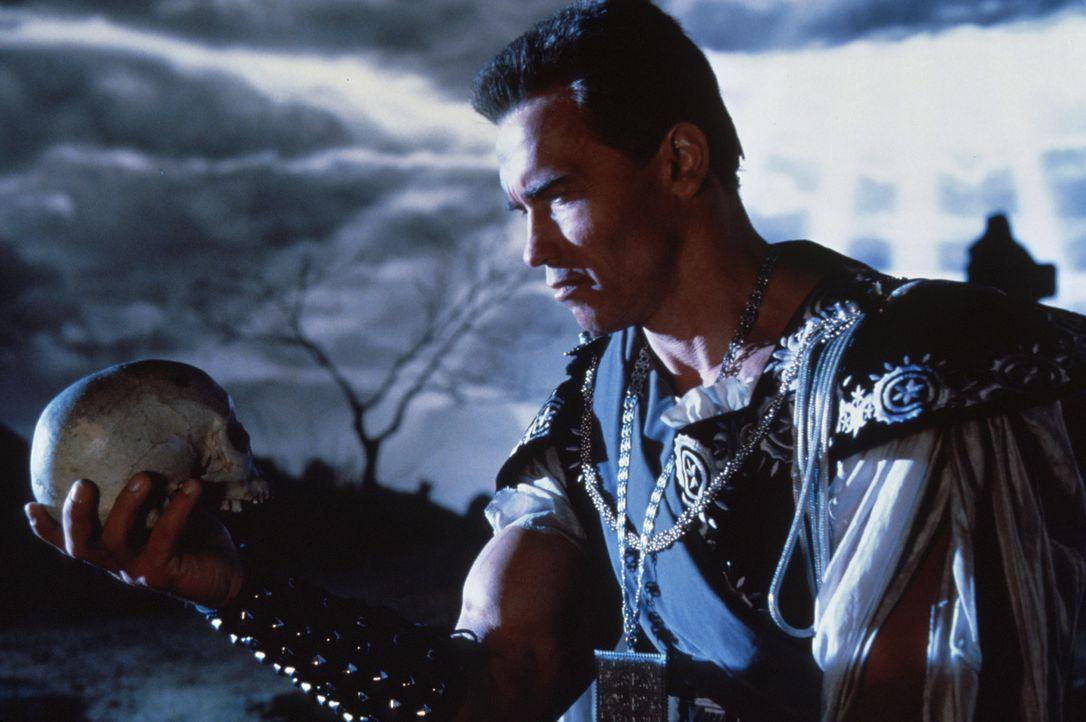Sein oder Nicht-Sein - Jack Slater (Arnold Schwarzenegger) ... - Bildquelle: Columbia Pictures