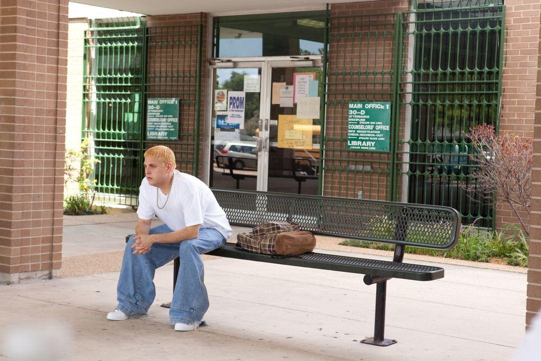 Auf der Highschool ist Schmidt (Jonah Hill) ein unbeliebter Nerd, mit wasserstoffblonden Haaren, unvorteilhafter Zahnspange und allerbesten Noten. A... - Bildquelle: TM &  2014 Metro-Goldwyn-Mayer Studios Inc. All Rights Reserved.