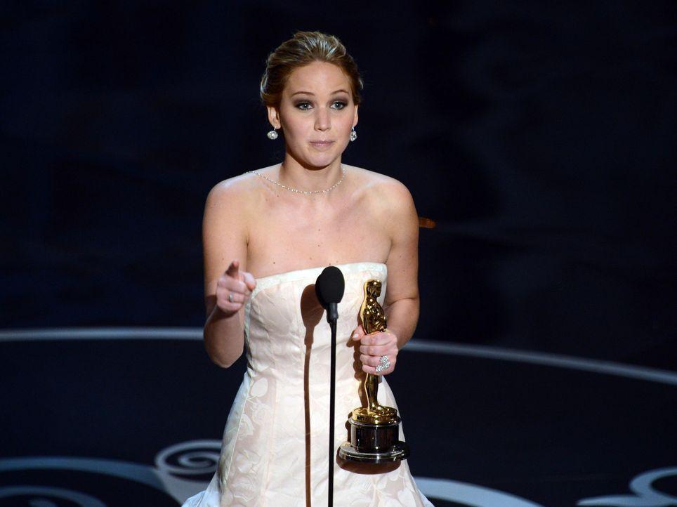 Oscar ® 2013 - Beste Hauptdarstellerin: Jennifer Lawrence - Bildquelle: AFP / GETTY IMAGES NORTH AMERICA