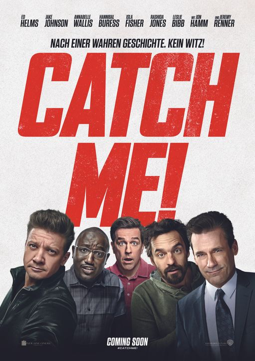 Catch Me! - Plakatmotiv - Bildquelle: 2018 Warner Bros. Entertainment Inc. All Rights Reserved.