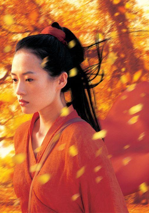 Moon (Ziyi Zhang) verliert ihr Herz an einen Namenlosen ... - Bildquelle: Constantin Film