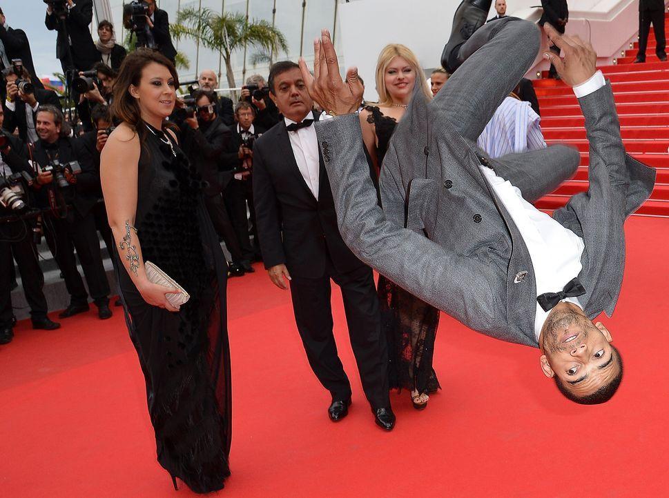 Cannes-Filmfestival-Brahim-Zaibat-140519-AFP - Bildquelle: AFP