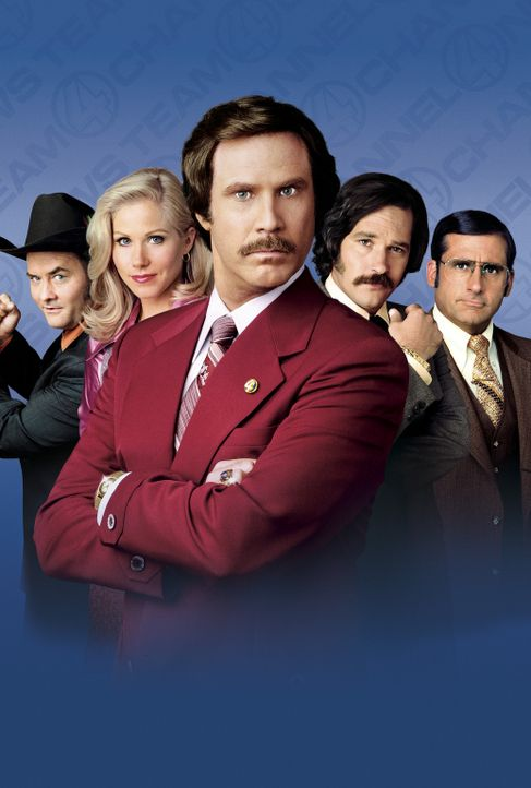 DER ANCHORMAN - DIE LEGENDE VON RON BURGUNDY - Artwork - Bildquelle: DreamWorks