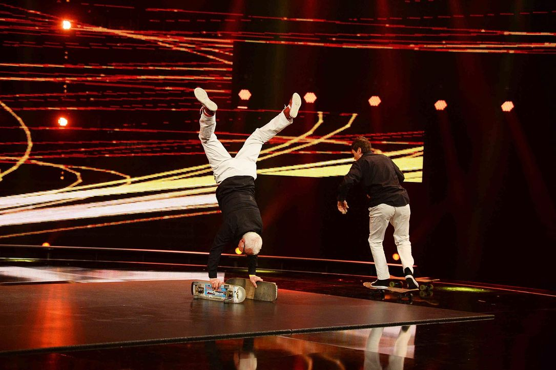 Got-To-Dance-Guenther-Eddie-02-SAT1-ProSieben-Willi-Weber - Bildquelle: SAT.1/ProSieben/Willi Weber