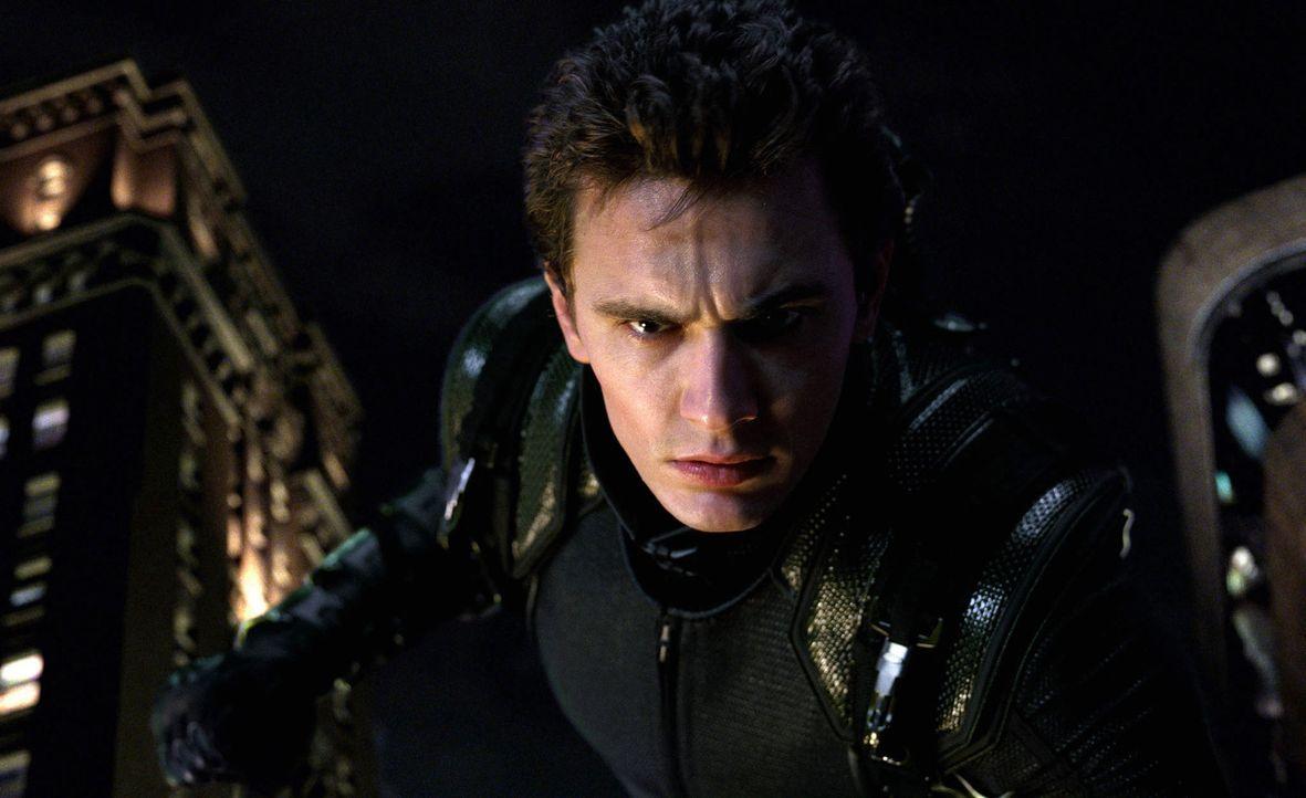Weil sein ehemaliger Freund Harry Osborn (James Franco) ihn für den gewaltsamen Tod seines Vaters verantwortlich macht, lässt er Peter nicht mehr... - Bildquelle: 2007 Marvel Characters, Inc.  2007 CPII. All Rights Reserved.