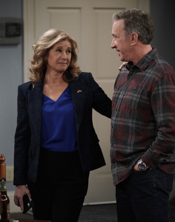 Vanessa Baxter (Nancy Travis, l.); Mike Baxter (Tim Allen, r.) - Bildquelle: Jack Zeman 2019-2020 Fox Media LLC.  All rights reserved. / Jack Zeman