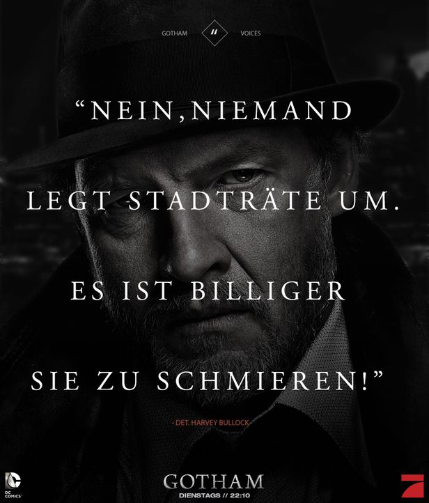 Gotham_Voices_Stimmen_der_Stadt_Zitate_Sprueche_Serie (17) - Bildquelle: DC Comics / Warner Bros. Entertainment, Inc.