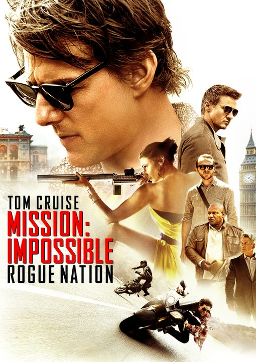 MISSION: IMPOSSIBLE - ROGUE NATION - Plakatmotiv - Bildquelle: Keith Hamshere 2015 PARAMOUNT PICTURES. ALL RIGHTS RESERVED.