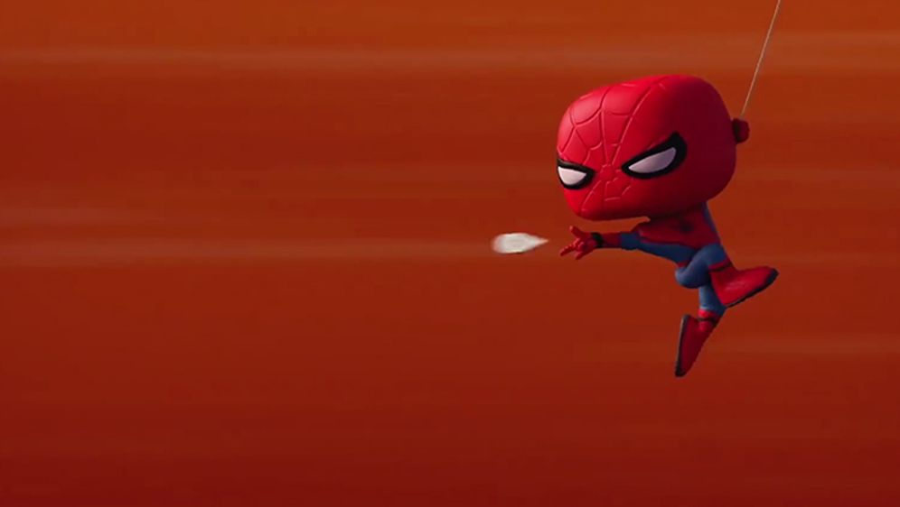 Marvel Short: Iron Man & Spider Man