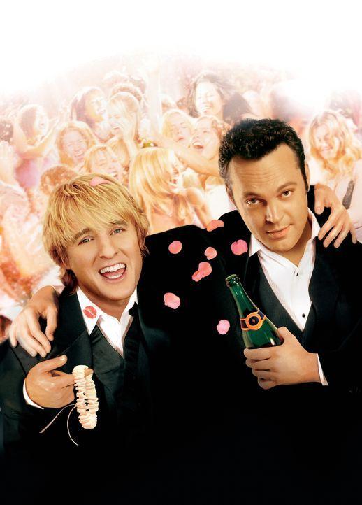 Die Hochzeits-Crasher mit Owen Wilson, l. und Vince Vaughn, r. - Bildquelle: Warner Bros. Television