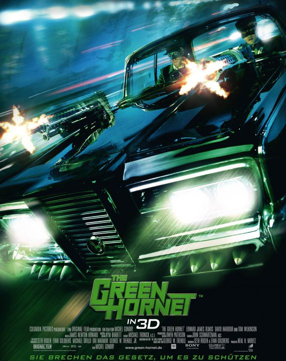 THE GREEN HORNET - Plakatmotiv - Bildquelle: The Green Hornet, related characters and hornet logo ? &   2011 The Green Hornet, Inc. All Rights Reserved.