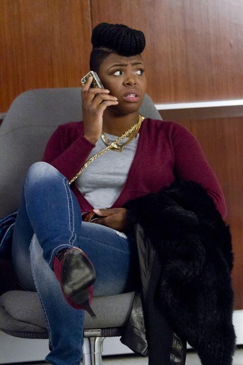 Cookies neue Assistentin Porsha (Ta'Rhonda Jones) sieht ihre große Chance und versucht ihre Meinung in alle Angelegenheiten der Plattenfirma einzubr... - Bildquelle: 2015 Fox and its related entities.  All rights reserved.