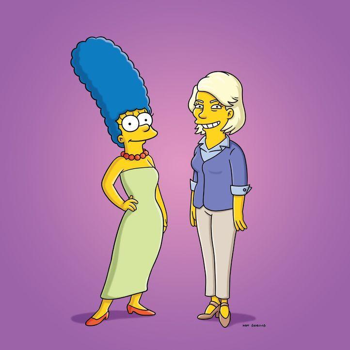 Dank der Lifestyle-Beraterin Martha Stewart (r.) hat Marge (l.) endlich das perfekte Weihnachtsfest, das sie sich schon immer gewünscht hat. - Bildquelle: und TM Twentieth Century Fox Film Corporation - Alle Rechte vorbehalten