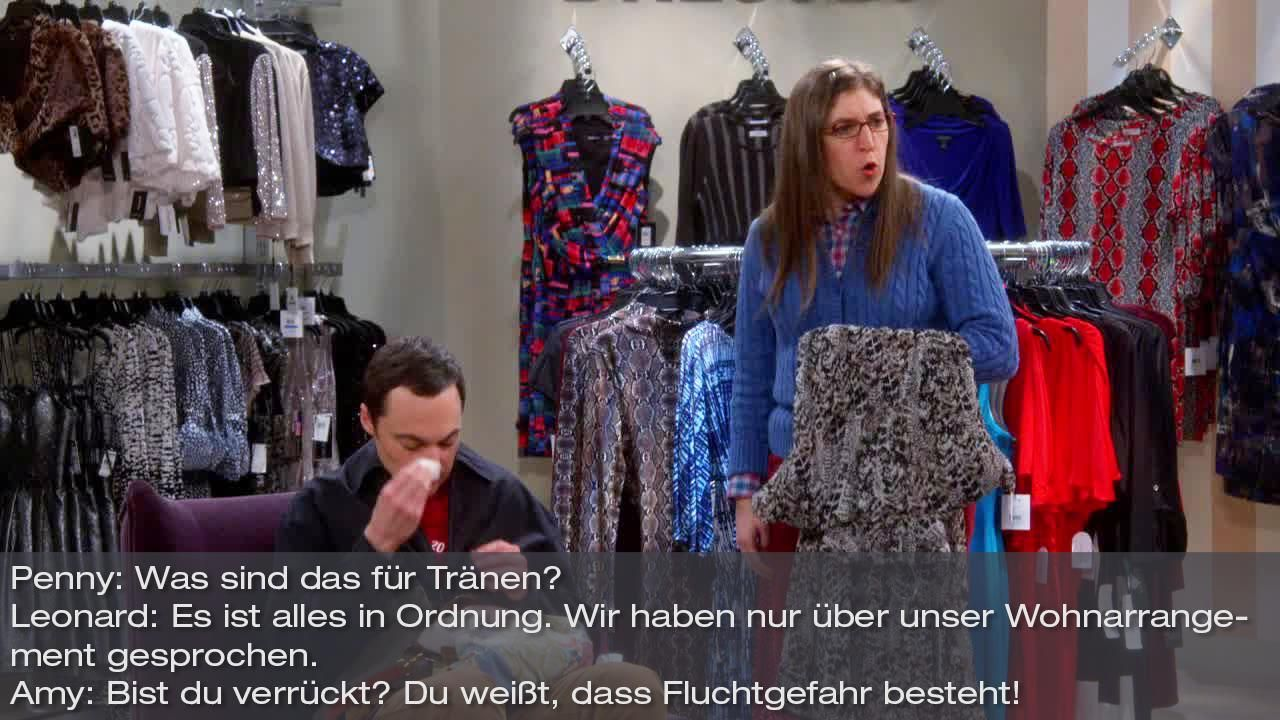 Zitate The Big Bang Theory Staffel 8 Folge 12 Bild9 - Bildquelle: Warner Bros. Television