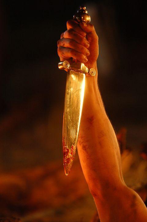 Eines Tages erhält Hercules ein einmaliges Schwert von dem Götterboten Hermes ... - Bildquelle: Ken George Hallmark Entertainment