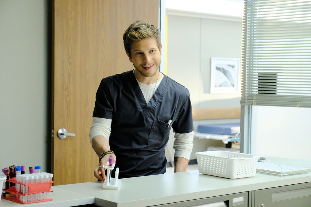 Dr. Hawkins (Matt Czuchry) geht für seine Patienten ein hohes Risiko ein, das ihn sogar seinen Job kosten könnte ... - Bildquelle: Guy D'Alema 2018 Fox and its related entities.  All rights reserved./ Guy D'Alema