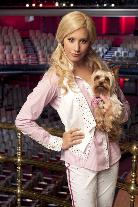 Sie hat einen Traum, den sie unbedingt verwirklichen will: Sharpay (Ashley Tisdale will am Broadway in einem großen Musical mitspielen. Doch noch w... - Bildquelle: 2010 Disney Enterprises, Inc. All rights reserved.