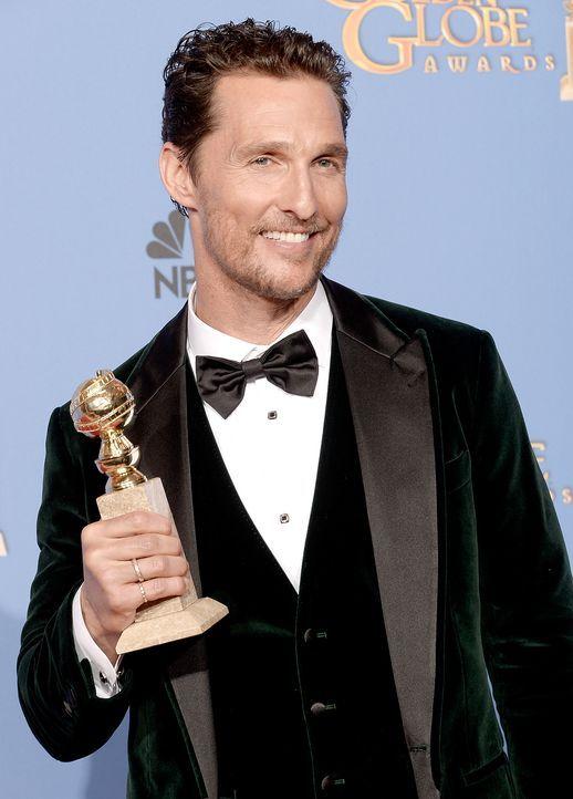 Golden-Globe-Matthew-McConaughey-14-01-12-getty-AFP - Bildquelle: getty-AFP
