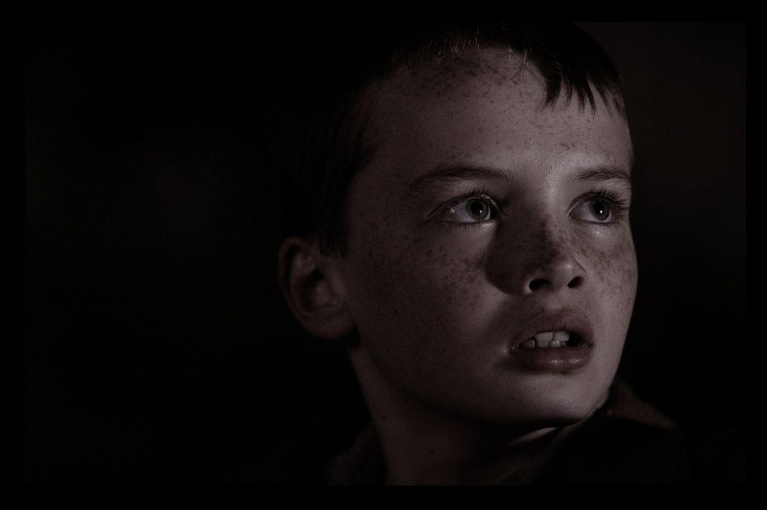 Angus (Alex Etel) bangt um das Leben seines Wasserdrachens, den einige Soldaten töten wollen ... - Bildquelle: CPT Holdings, Inc. All Rights Reserved. (Sony Pictures Television International)