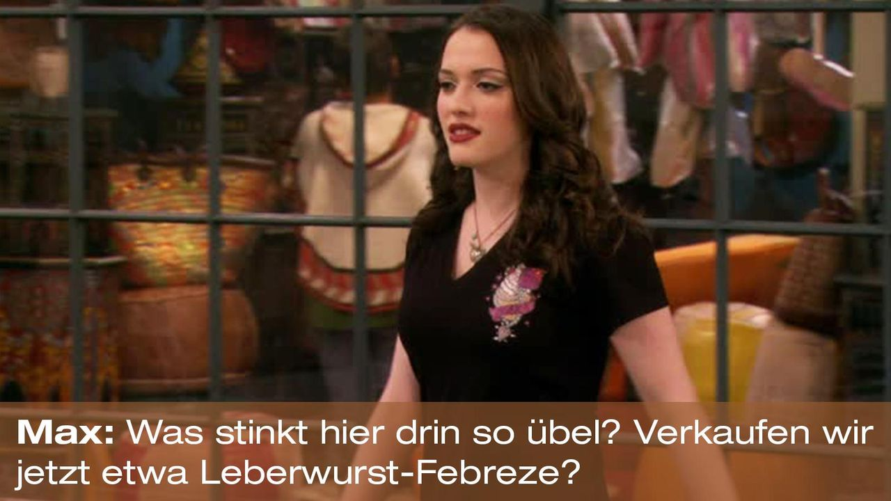 2-broke-girls-zitat-quote-staffel2-episode11-geschaeftspartnerin-max-leberwurst-warnerpng 1600 x 900 - Bildquelle: Warner Bros. International Television