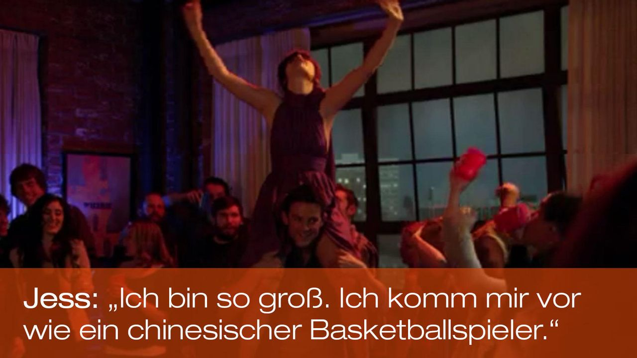 New Girl - Zitate - Staffel 1 Folge 18 - Jess (Zooey Deschanel) 1600 x 900 - Bildquelle: 20th Century Fox