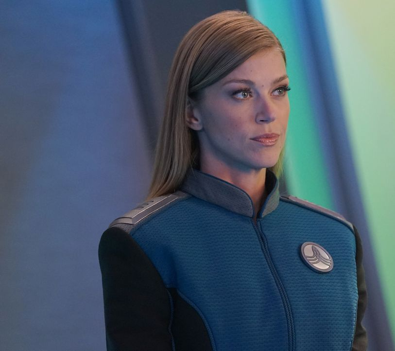 Commander Kelly Grayson (Adrianne Palicki) - Bildquelle: Kevin Estrada 2019 Twentieth Century Fox Film Corporation.  All rights reserved.