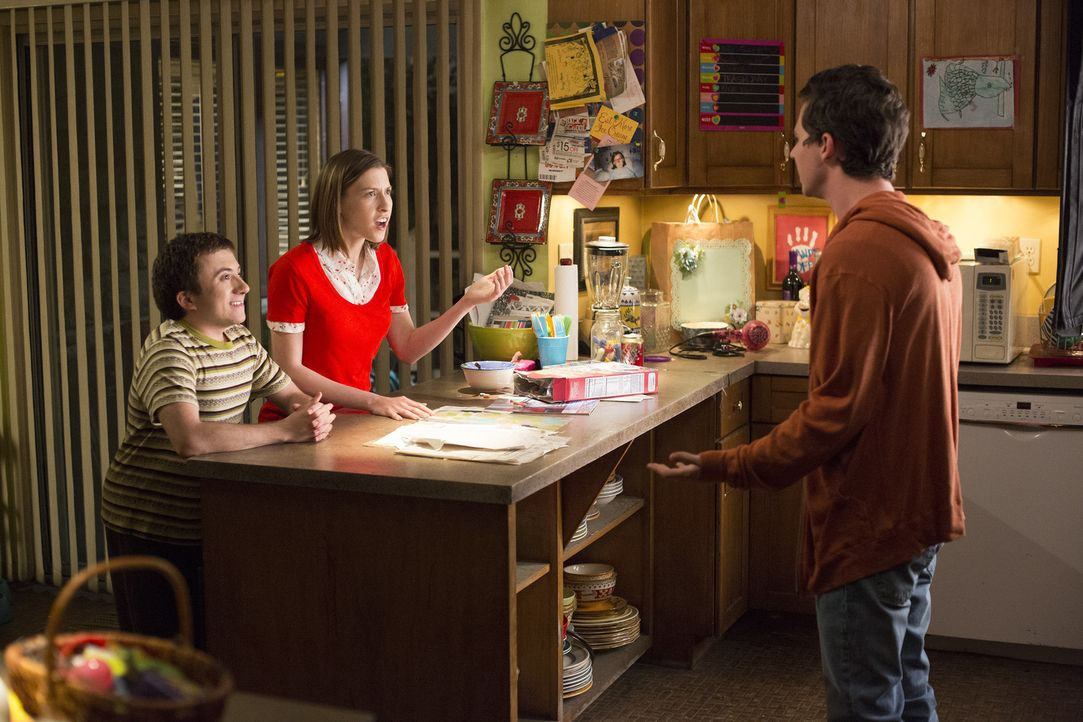 (v.l.n.r.) Brick (Atticus Shaffer); Sue (Eden Sher); Axl (Charlie McDermott) - Bildquelle: Michael Ansell 2017 American Broadcasting Companies, Inc. All rights reserved./Michael Ansell