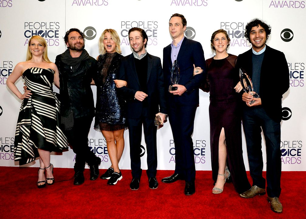 PCA-Big-Bang-Theory-Cast-160106-getty-AFP - Bildquelle: 2016 Getty Images