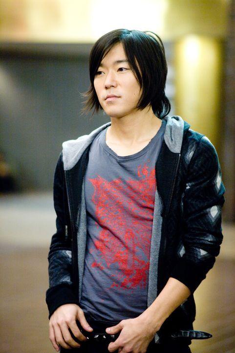 Thom (Aaron Yoo) weiß genau, wen er nicht mag: Nicks Ex Tris ... - Bildquelle: 2008   CPT Holdings, Inc. All Rights Reserved. (Sony Pictures Television International)