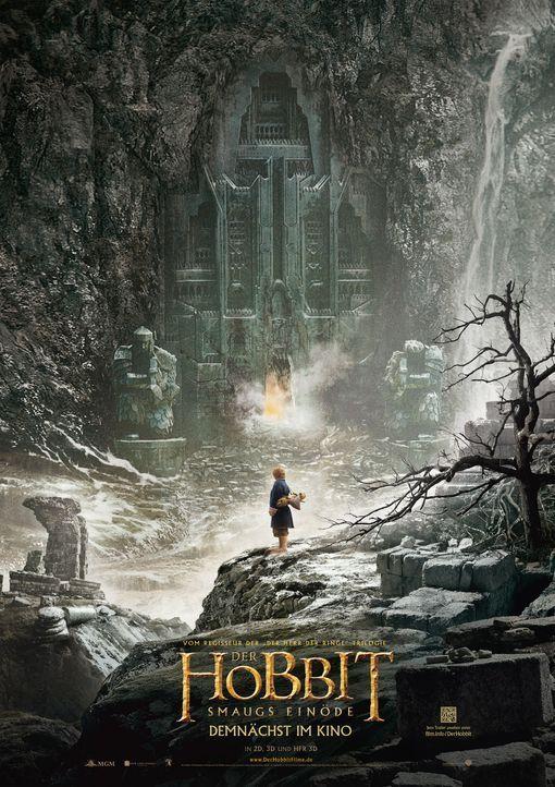 der-hobbit-smaugs-einoede-plakat-Warner-Bros - Bildquelle: 2013 WARNER BROS. ENTERTAINMENT INC.