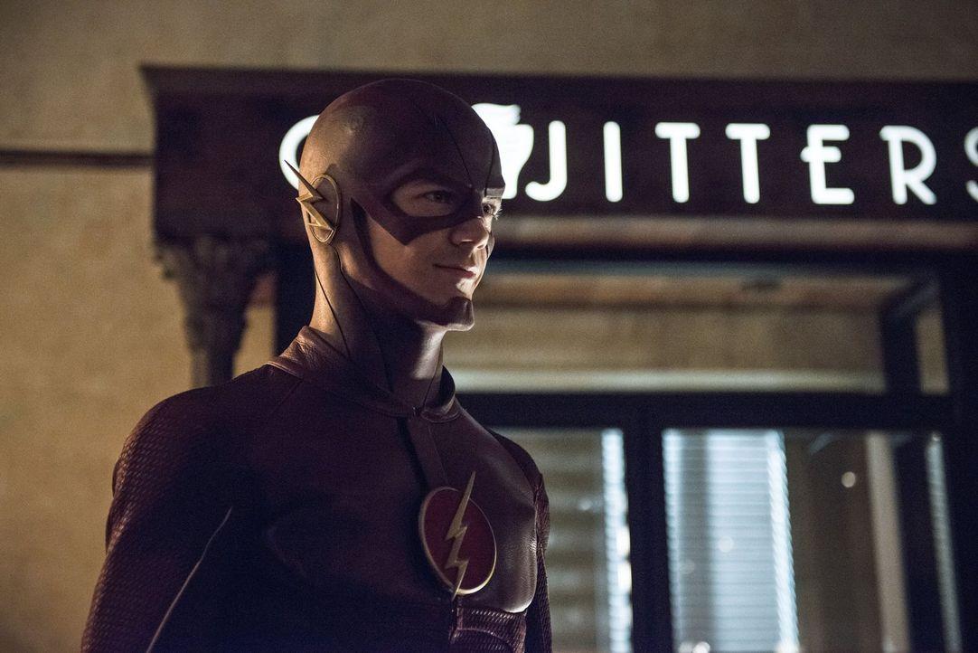 Im Kampf gegen das Böse: Barry alias The Flash (Grant Gustin) ... - Bildquelle: Warner Brothers.