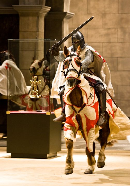 """""""Veritas vos liberabit"""" - Die Wahrheit wird euch befreien! Das Metropolitan Museum in New York präsentiert eine Sammlung vatikanischer Kostbarkeite... - Bildquelle: 2008 Templar Productions (Muse) Inc. All Rights Reserved"""