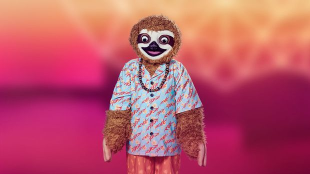 Faultier The Masked Singer