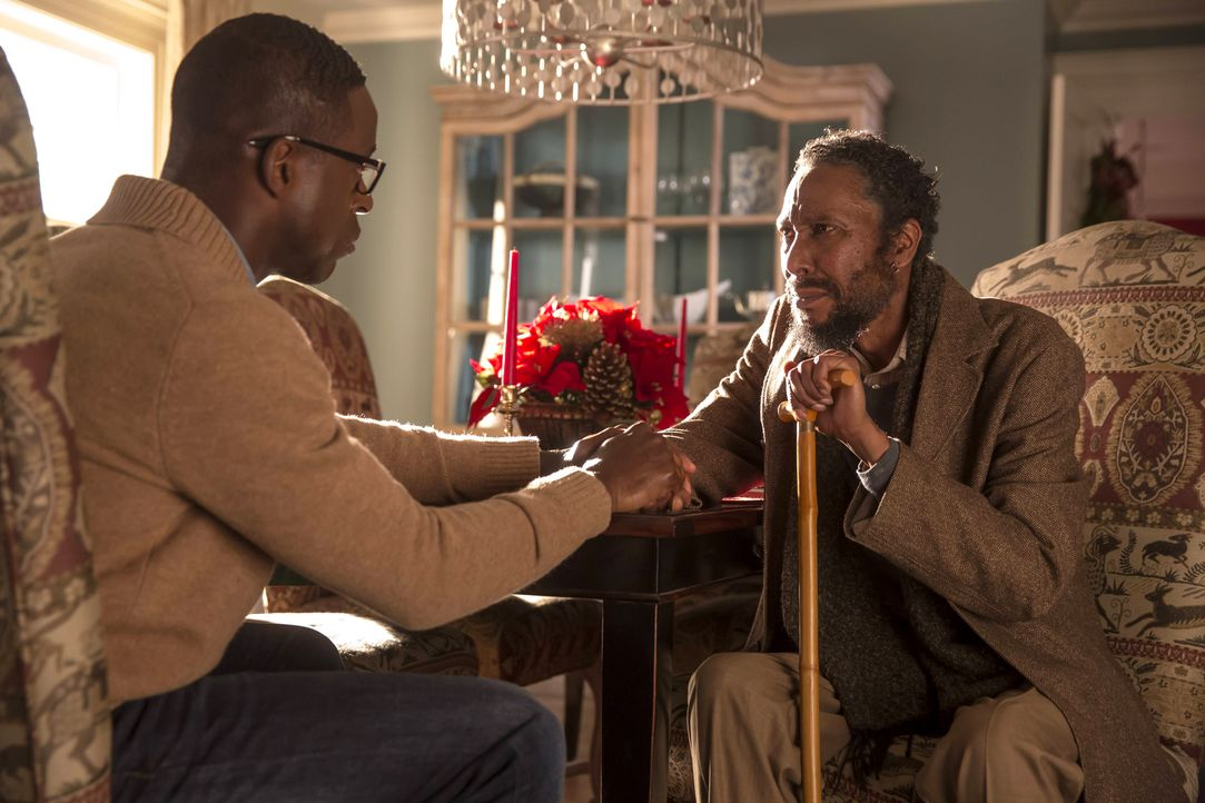 William (Ron Cephas Jones, r.) verbringt mehr Zeit mit Jessie, woran sich Randall (Sterling K. Brown, l.) erst einmal gewöhnen muss, während sich Ka... - Bildquelle: Ron Batzdorff 2016-2017 Twentieth Century Fox Film Corporation.  All rights reserved.   2017 NBCUniversal Media, LLC.  All rights reserved.