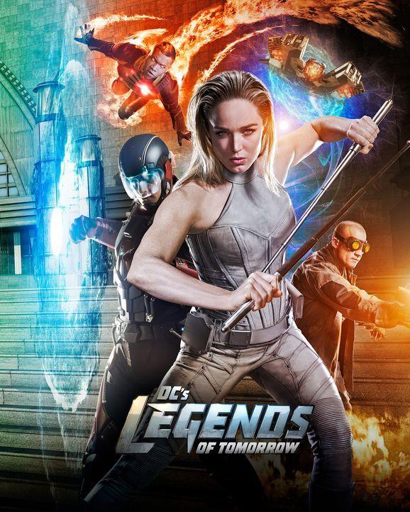(2. Staffel) - Legends of Tomorrow - Artwork - Bildquelle: 2016 Warner Bros.