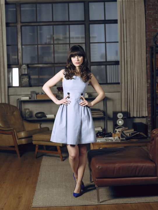 (3. Staffel) - Wo ein Fettnäpfchen ist, ist Jessica Day (Zooey Deschanel) meist nicht weit ... - Bildquelle: TM &   2013 Fox and its related entities. All rights reserved.