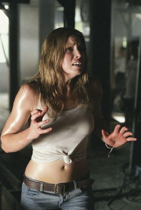 Ein grauenvoller Alptraum nimmt seinen Lauf: Erin (Jessica Biel) ... - Bildquelle: Constantin Film