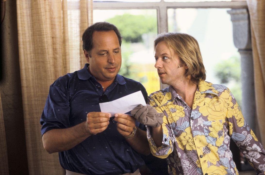 Kann Ex-Kinderstar Dickie (David Spade, r.) Sidney (Jon Lovitz, l.) zu einem dubiosen Deal überreden ... - Bildquelle: Mark Fellman Paramount Pictures / Mark Fellman