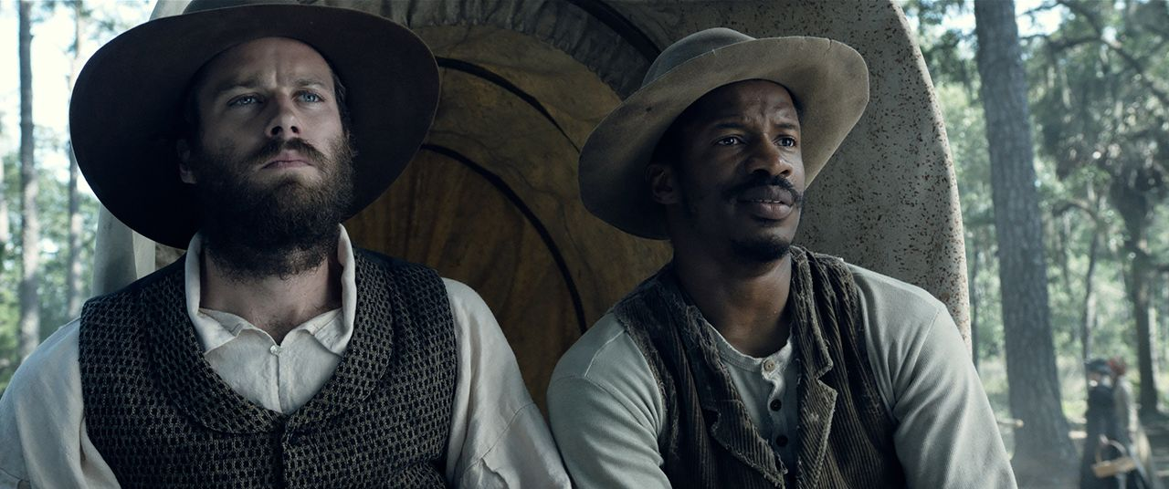 Samuel Turner (Armie Hammer, l.); Nat Turner (Nate Parker, r.) - Bildquelle: 2016 Twentieth Century Fox Film Corporation.  All rights reserved.