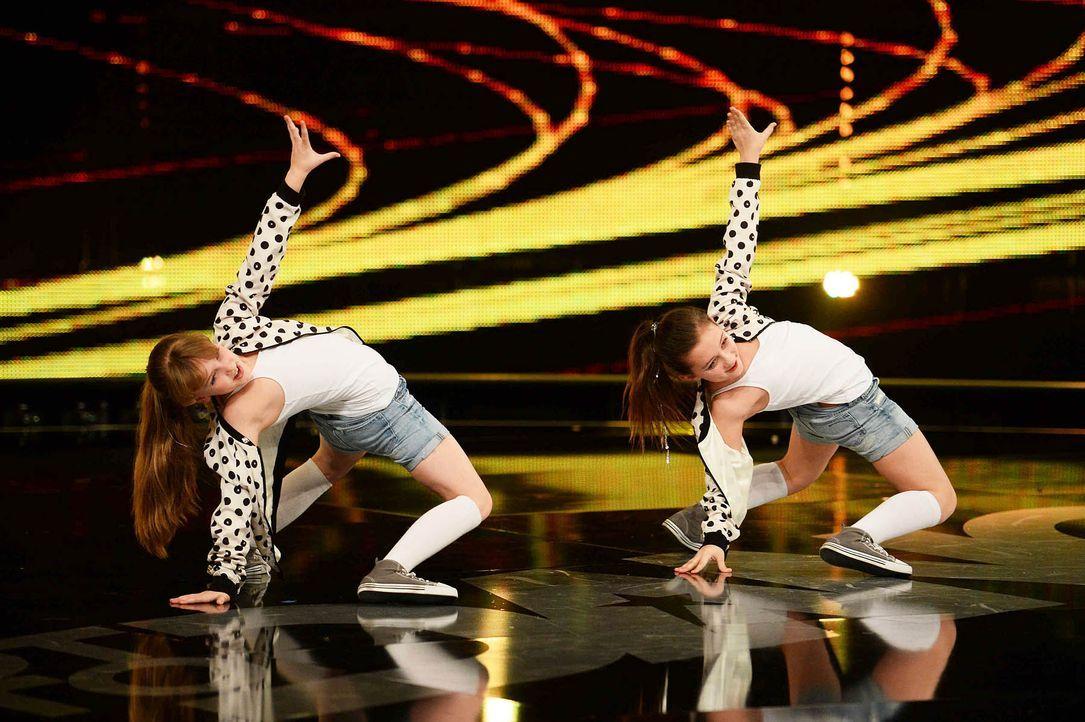 Got-To-Dance-Delia-Viktoria-04-SAT1-ProSieben-Willi-Weber - Bildquelle: SAT.1/ProSieben/Willi Weber