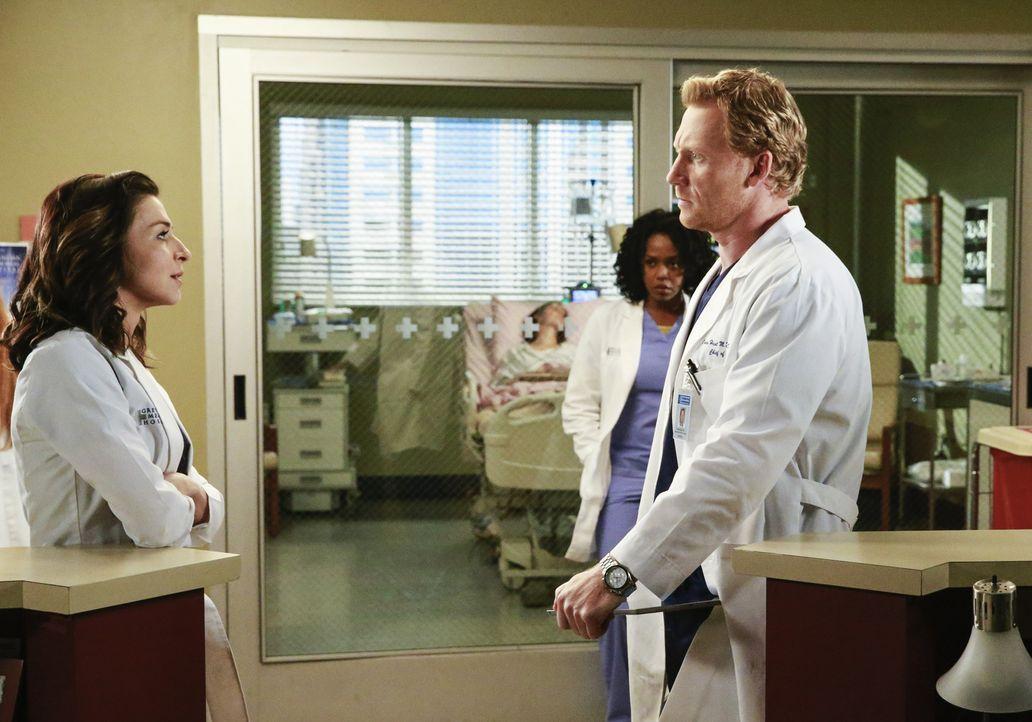 Der Absturz eines kleinen Flugzeugs führt zu mehreren Verletzten und bringt schreckliche Erinnerungen in den Ärzten hoch, während sich zur gleichen... - Bildquelle: ABC Studios