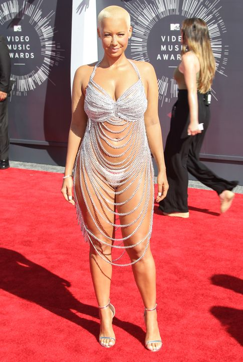 MTV-Video-Music-Awards-Amber-Rose-14-08-24-FayesVision-WENN-com - Bildquelle: FayesVision/WENN.com