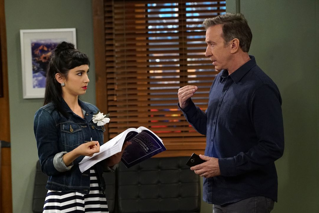 Mandy (Molly Ephraim, l.); Mike (Tim Allen, r.) - Bildquelle: 2016-2017 American Broadcasting Companies. All rights reserved.
