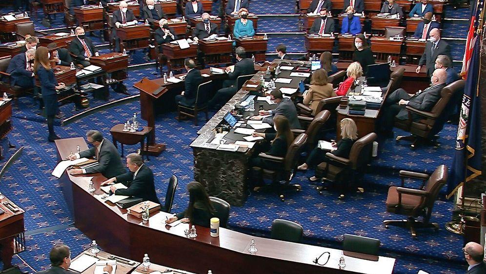 - Bildquelle: Uncredited/Senate Television/AP/dpa