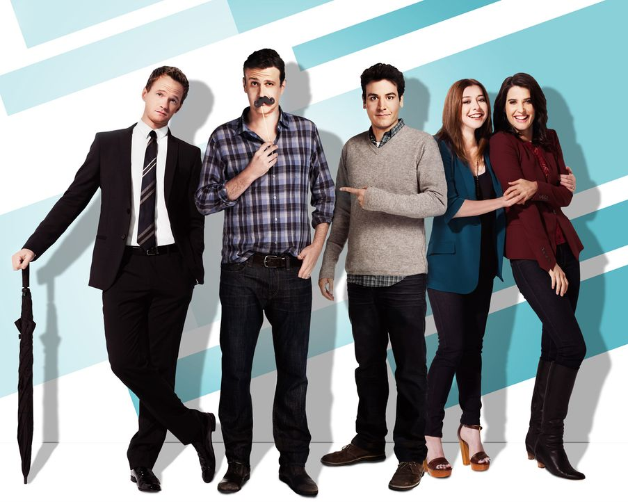 HIMYM - Staffel 9 - Promo Shoot5 - Bildquelle: 2013 CBS Broadcasting, Inc. All rights reserved.