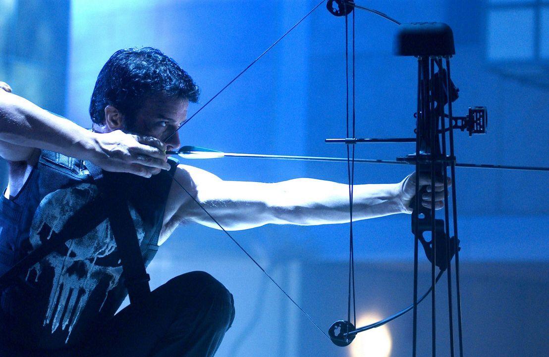 Mit ihm ist wirklich nicht zu spaßen: Frank Castle (Thomas Jane) ... - Bildquelle: Sony Pictures Television International. All Rights Reserved.