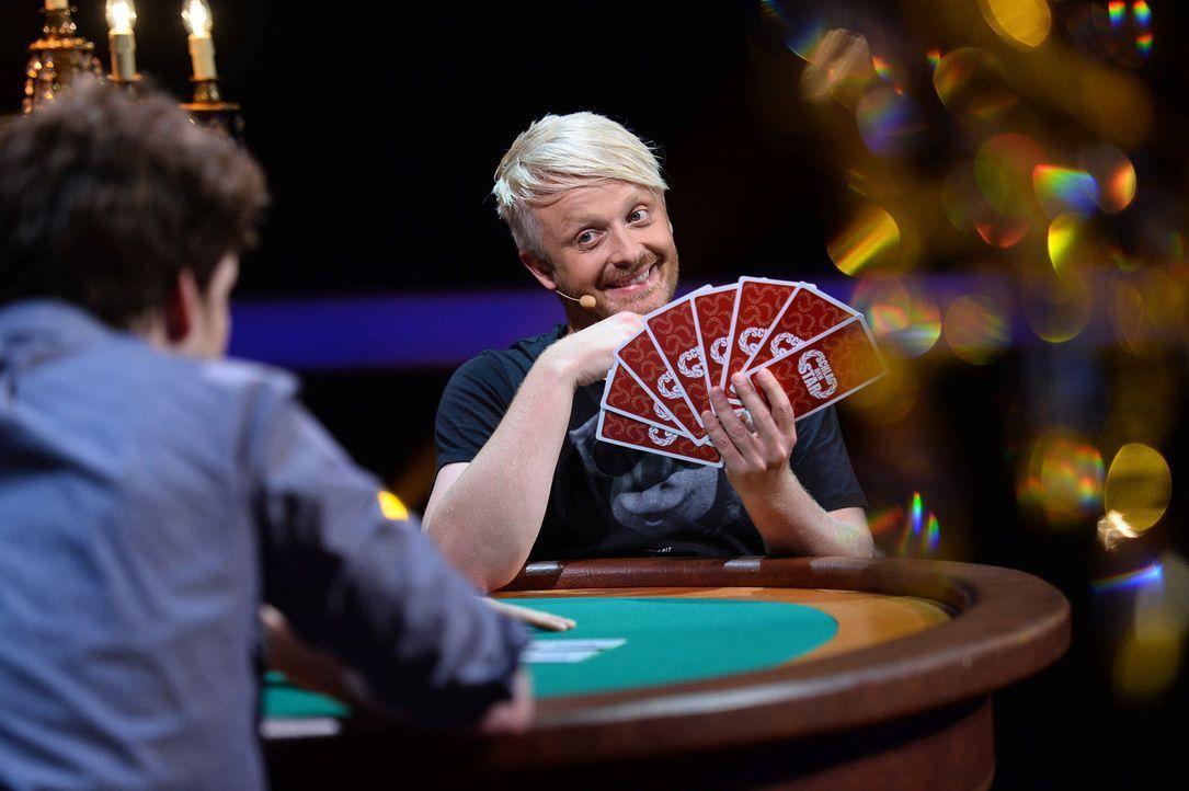 Hat Ross Antony das perfekte Pokerface? - Bildquelle: Willi Weber ProSieben
