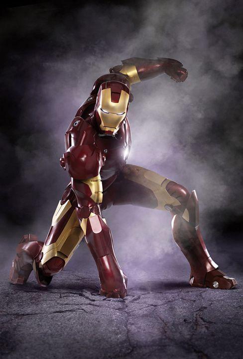 Will die Menschen beschützen, die er zuvor mit den Waffen seines Unternehmens in Gefahr gebracht hat: Tony Stark alias Iron Man (Robert Downey Jr.)... - Bildquelle: 2008 MVL Film Rinance LLC. All Rights reserved.